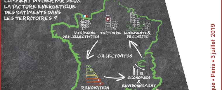 Premières rencontres des collectivités pour la rénovation énergétique – 3 juillet – Paris